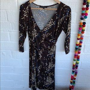 Laundry By Shelli Segal Midi Dress sz 6